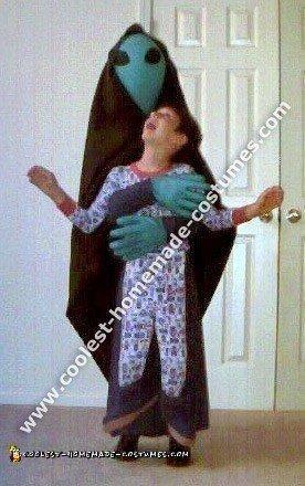 6 Coolest Homemade Alien Abduction Costume Ideas