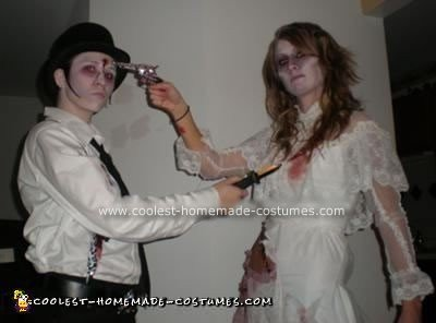 Homemade Dead Couple Costume