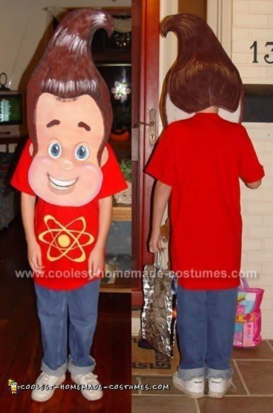 Jimmy Neutron - Homemade Halloween Costumes