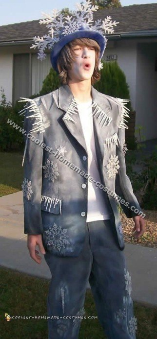 Coolest Homemade Jack Frost Costume Ideas