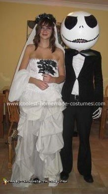 Jack Skellington and Corpse Bride Costume