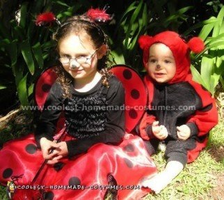 Easy Do-it-Yourself Lady Bug Costume Ideas for Kids