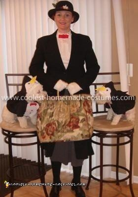 Make Your Own Mary Poppins Costume