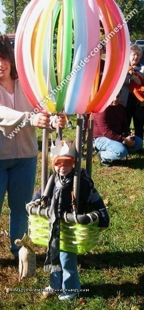 Hot Air Balloon Home Made Costume