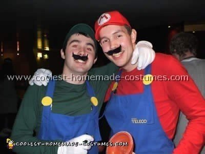 mario and luigi costumes