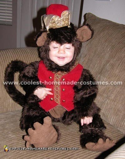 Cool Homemade Monkey Costume