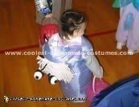 Homemade Monsters Inc. Boo Costume