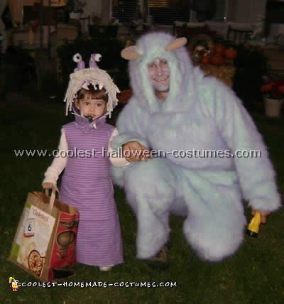 Coolest Homemade Monsters Inc Costume Ideas And Photos