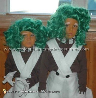 Coolest Homemade Willy Wonka and Oompa Loompa Costumes