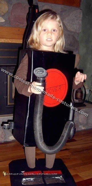 Coolest Homemade Vacuum Cleaner Costume Ideas