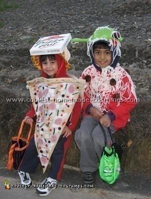 Pasta and Pizza Costume
