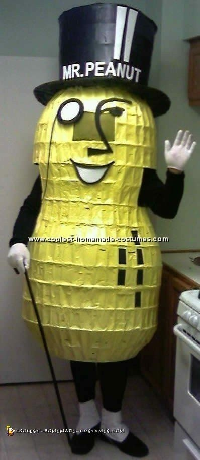 Planter's Peanut Costume