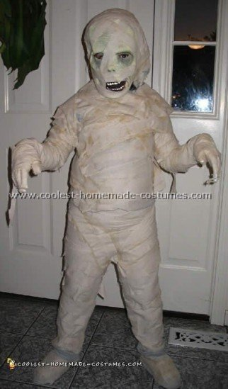 Creepiest Homemade Picture of Mummy Costume Ideas and Tips