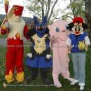 Coolest Homemade Pokemon Costume Ideas