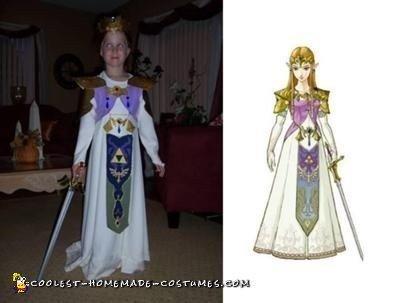 Princess Zelda Nintendo Character Costume