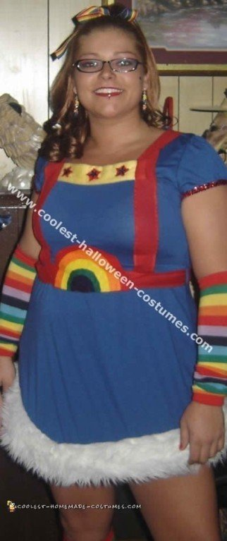 Coolest Homemade Rainbow Brite Costume Ideas and Photos