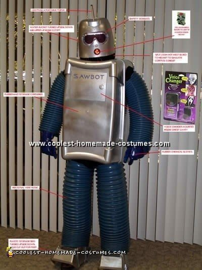 Coolest Homemade Robot Costume Ideas For Halloween