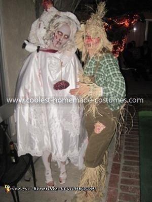 Scariest Headless Dead Bride Costume 78
