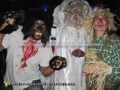 Scariest Headless Dead Bride Costume 78