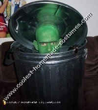 Oscar the Grouch Sesame Street Costume