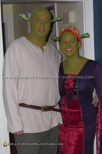 Fiona and Shrek Costume