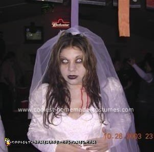 Homemade Dead Bride Costume