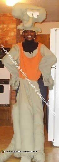 Coolest Homemade Squidward Costume Ideas