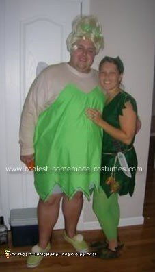Peter Pan & Tinkerbell Costume