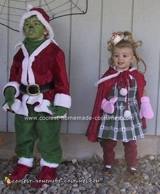 The Grinch and Cyndi Lou Who Costumes