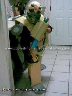 Transformer Bumblebee Costume