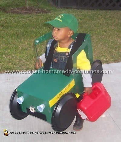 this unique halloween costume idea was the hit every where my three year old wore it my husband and i used some old cardboard boxes cut off the top flaps