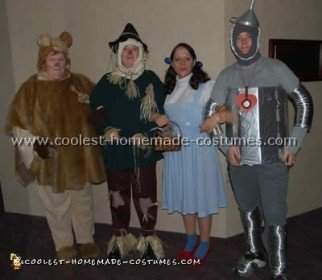 Coolest Homemade Wizard of Oz Costume Ideas