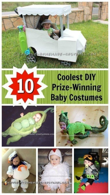 Top 10 Lists - Coolest DIY Halloween Costume Collections