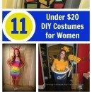 cheap halloween costume ideas for women