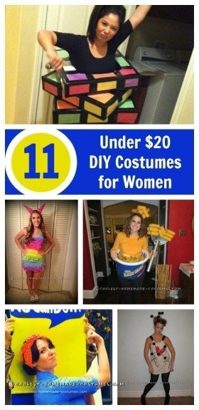 cheap halloween costume ideas for women