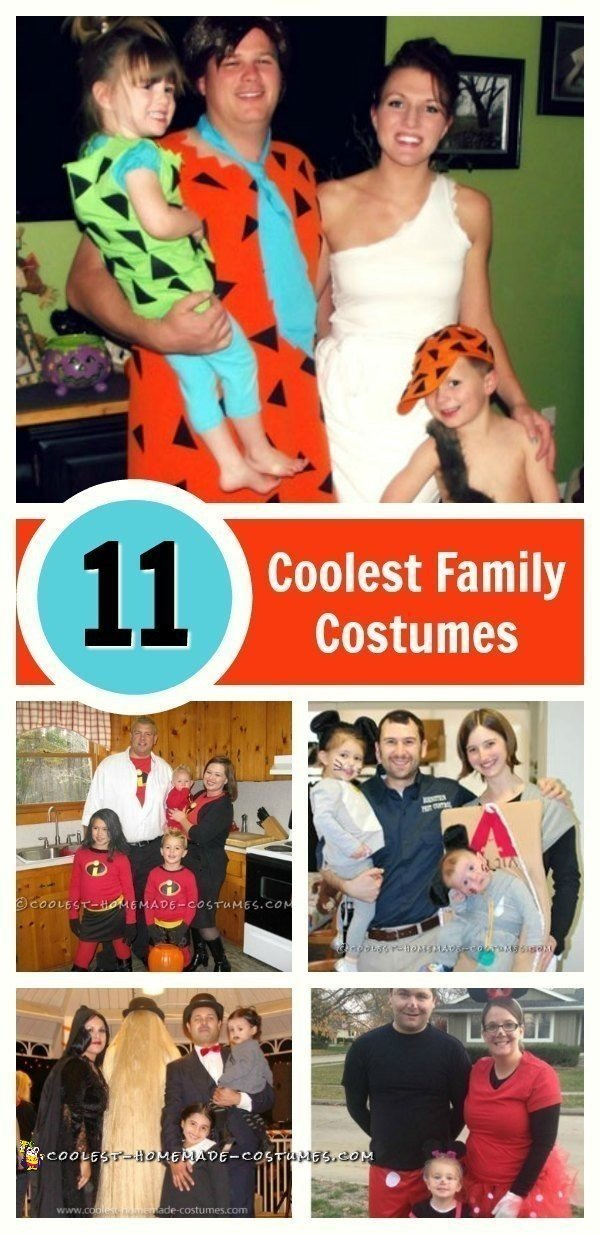 Diy Family Halloween Costumes.Top 11 Diy Family Halloween Costume Ideas On A Budget