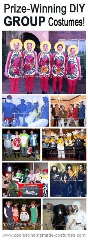 Top 9 Prize-Winning DIY Group Halloween Costumes