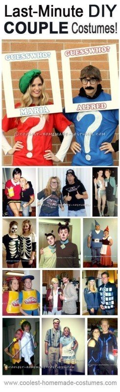 Top 13 Last Minute Halloween Costume Ideas for Couples