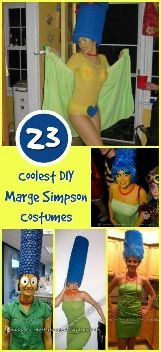 marge-simpson-costume-collage