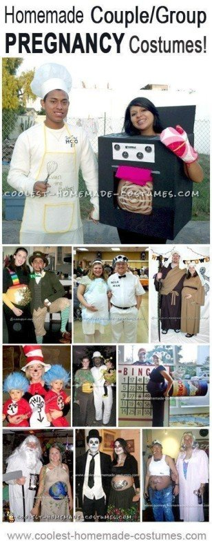 Top 10 DIY Pregnant Halloween Costumes Especially for Couples and Families