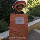 Awesome Mexican Wall Costume