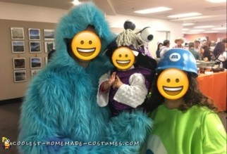 monsters inc family costumes
