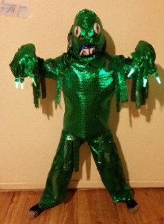 child sea monster costume