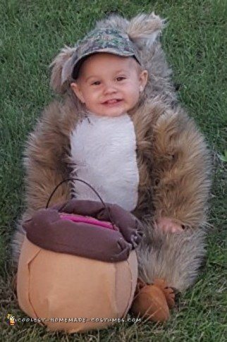 adorable squirrel costume