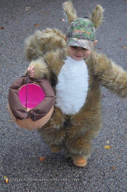 adorable squirrel costume