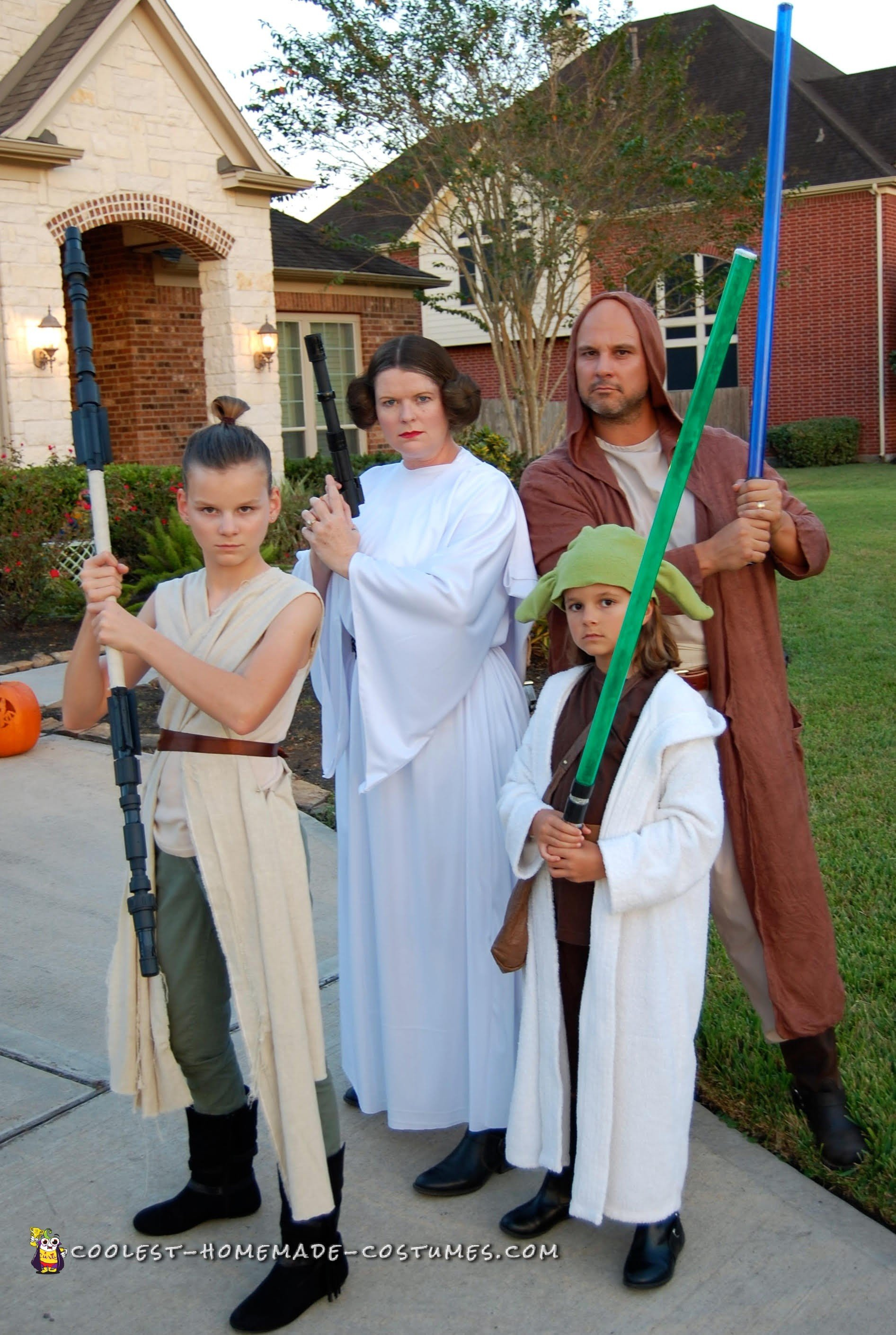 Coolest Diy Family Star Wars Costumes For Halloween
