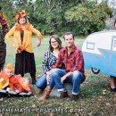 family camping costumes