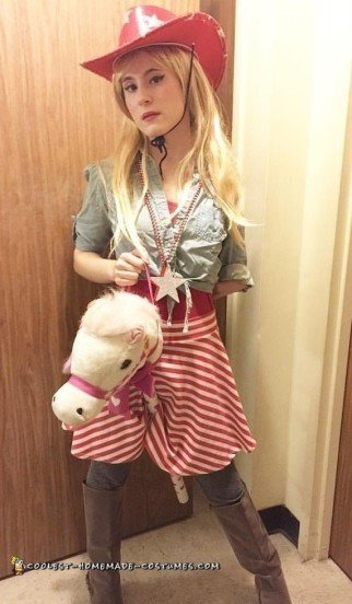 Coolest DIY Womens Cowgirl Costume