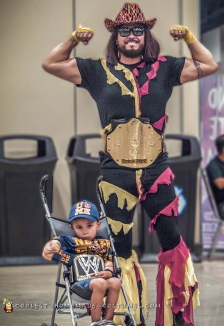 Coolest Macho Man Costume. You dig it!