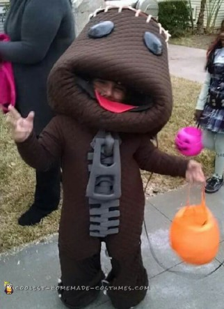 Benjamins d.i.y. Sackboy from Little Big Planet Costume